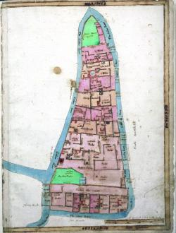 East Smithfield, Treswell Survey, 1612