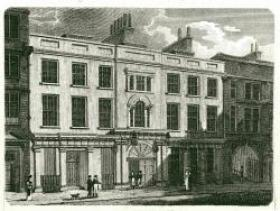 Exterior of Mincing Lane Properties, probably 18th century