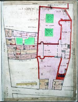 Mincing Lane, Treswell Survey, 1612