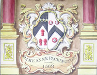 Dame Anne Packington's coat-of-arms