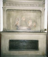 Dame Anne Packington's memorial, St. Botolph's Aldersgate