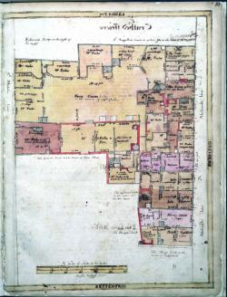 St. Nicholas Lane, Treswell Survey, 1612