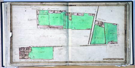 Bell Alley, White's Alley, Swan Alley, Goffe's Alley, Treswell Survey, 1612