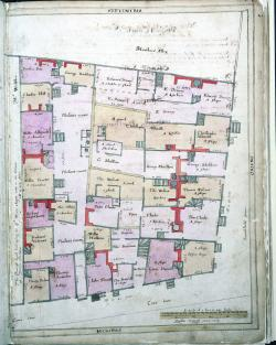 West Smithfield, Treswell Survey, 1612