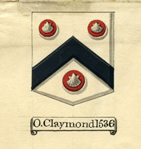 Oliver Claymond's Arms, Angell Papers