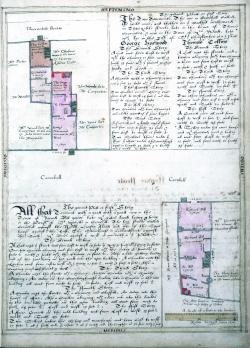 Cornhill and Threadneedle Street, Treswell Street, 1612