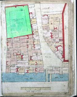 Fleet Lane, Treswell Survey, 1612